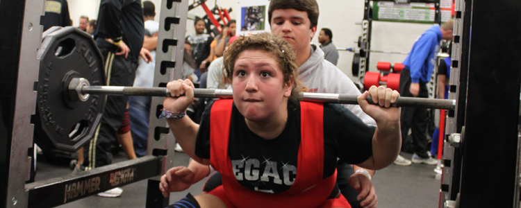 Weightlifter Competes in State