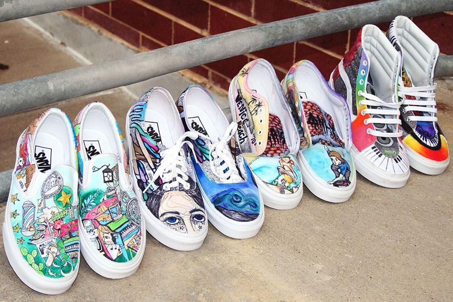 13e9ebd8866c Art Students Design Shoes for Vans – The Rider Online