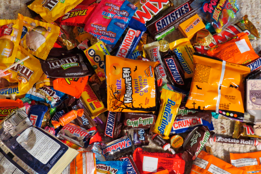 Worst candies to be given while trick or treating.