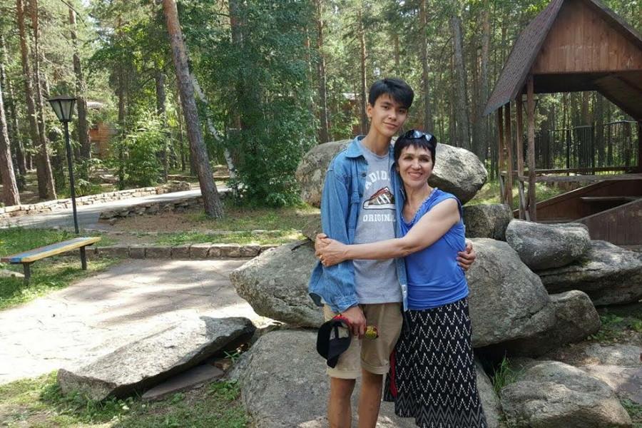 Omal Ryspayev traveled to America from Kazakhstan with the Future Leadership Exchange Program