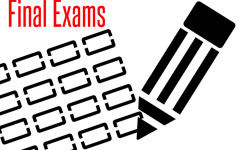 Core class final exams will be taken before the winter break in hopes that it improves testing scores.