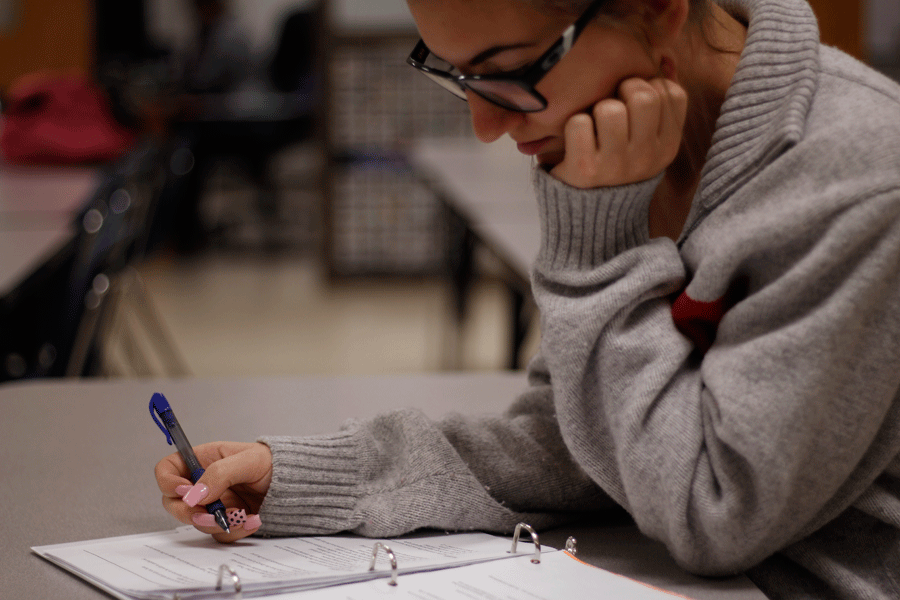 Taking exams before Winter Break would make it easier and less stressful for students to study.