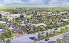The Shops at Broad, Mansfield's newest construction project, is still in the developmental stages. Construction should begin in the fall of 2017. http://ucr.com/property/shops-at-broad/