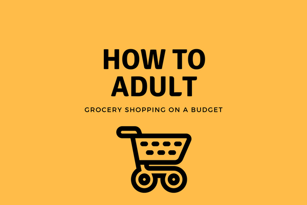 How to Adult: Grocery Shopping on a Budget