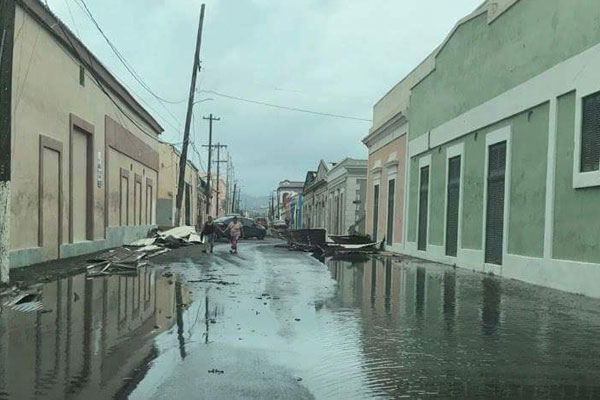 While Hurricane Irma affected the mainland United States, it also devastated the island of Puerto Rico. PR is only 100 miles long by 35 miles wide.