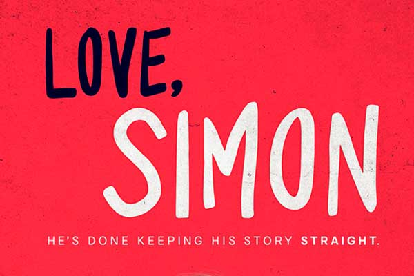 Love, Simon, hits theaters in March, 2018. It's adapted from the book