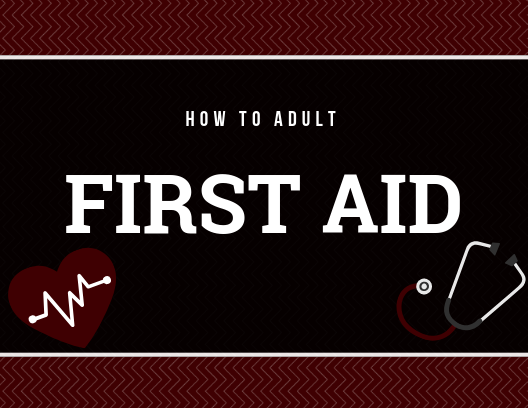 Learn basic first aid.