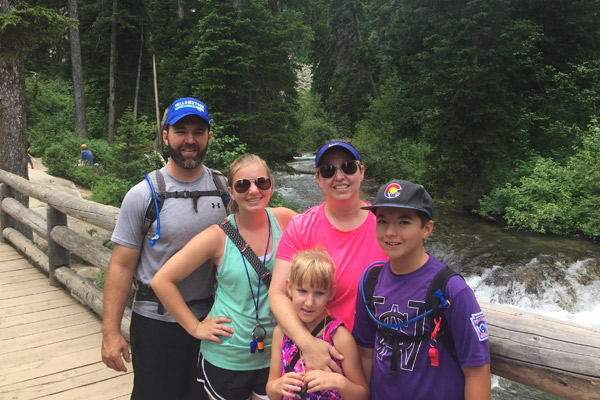 Mckenzie Canton and her family take a vacation to Colorado
