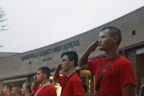 JROTC Competes in First Meet
