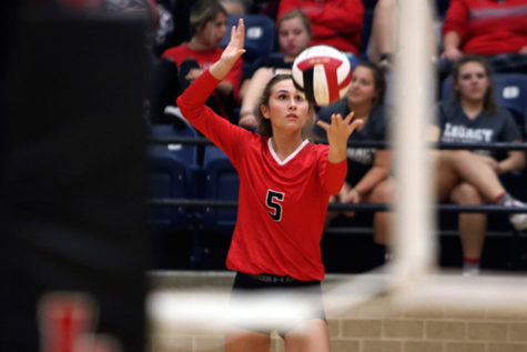 Volleyball Advances to Area