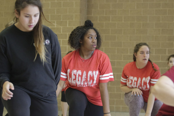 Dance students prepare for the fall recital. The recital will be held at Willie Pigg on Dec. 3 at 6:30 p.m.