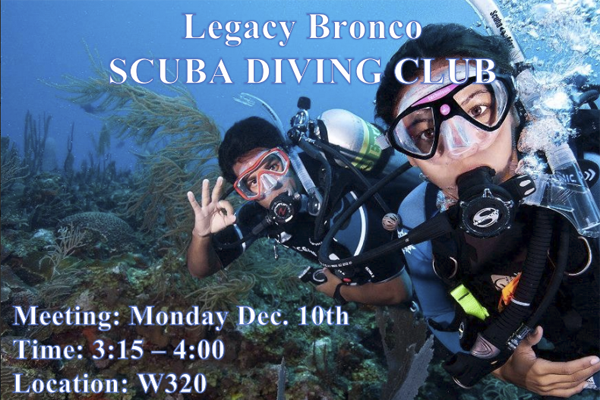 Golf Coach Starts Scuba Club