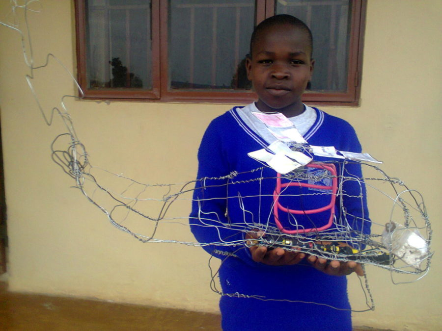 Alex+Smith%2C+10%2C+poses+with+his+creation+at+Suubi+in+Uganda