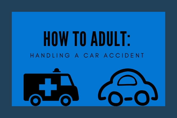There are steps to take in the event of a car accident.