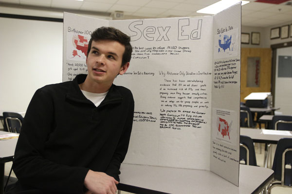 AP English Students Present Projects