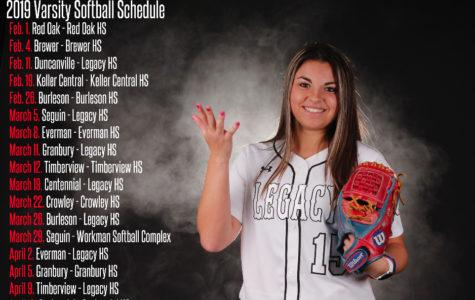 Varsity Softball Schedule