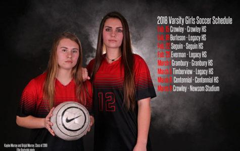 Varsity Girls Soccer Schedule