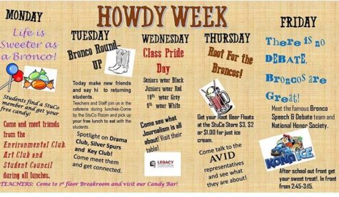 StuCo Hosts Howdy Week