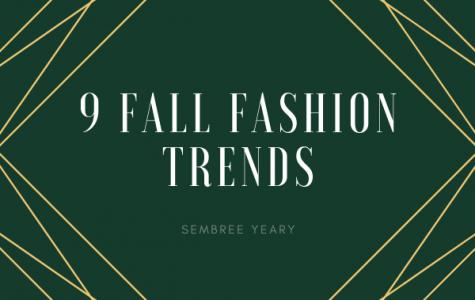 9 Fall Fashion Trends