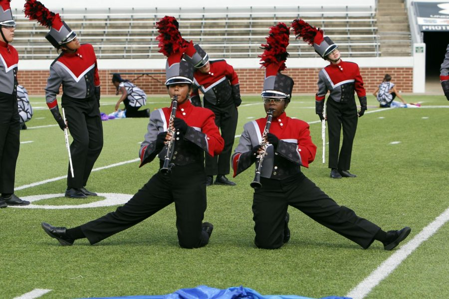 Update: Band Marches to Area