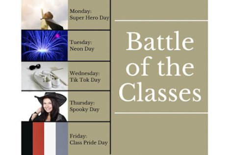 Students Compete in Battle of the Classes