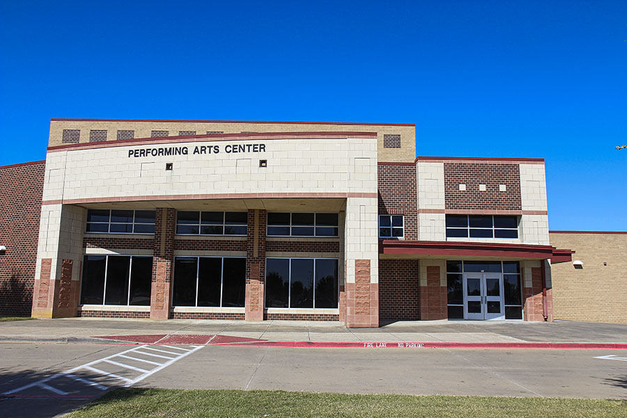 The Legacy Performing Arts Center is open for rentals on facilitron.com. Beginning Oct. 27, Life.Church Mansfield will rent out the space for worship services.
