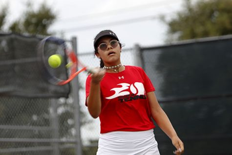 Tennis Ends Undefeated Season