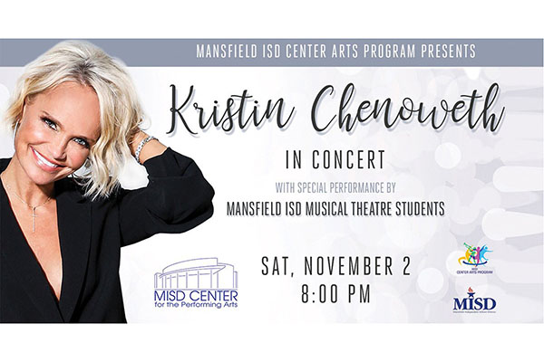 MISD students set to perform with Kristin Chenoweth on Nov 2.