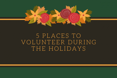 Five Places To Volunteer During The Holidays