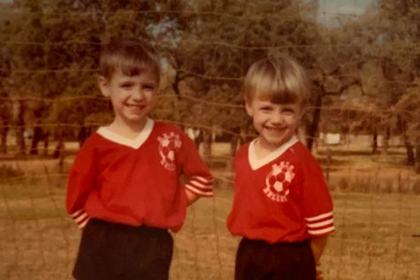 Josh and Chad Powell played little league soccer together as children.