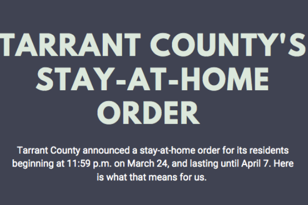 What Tarrant County's Stay at Home Order Means