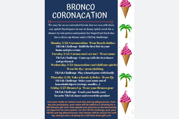 StuCo Hosts 'Coronacation' Spirit Week