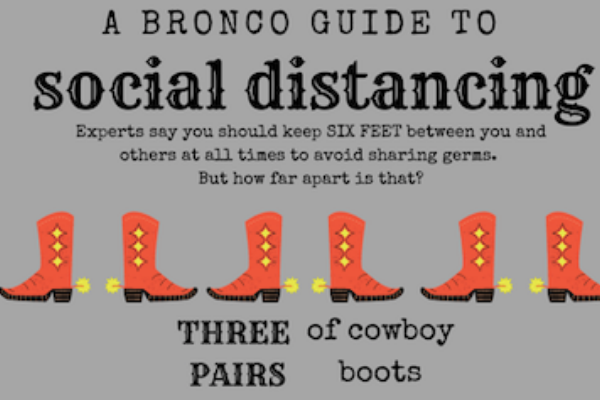 A Bronco's Guide to Social Distancing