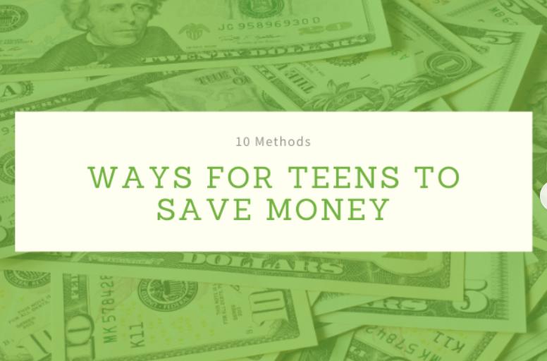 Ways Teens Can Save Money