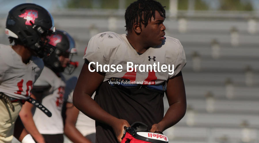 Chase Brantley: Stuco, Football