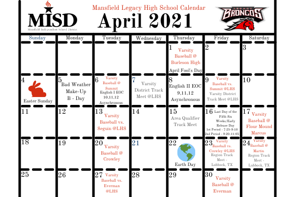 After inclement weather, MISD revises their calendar.